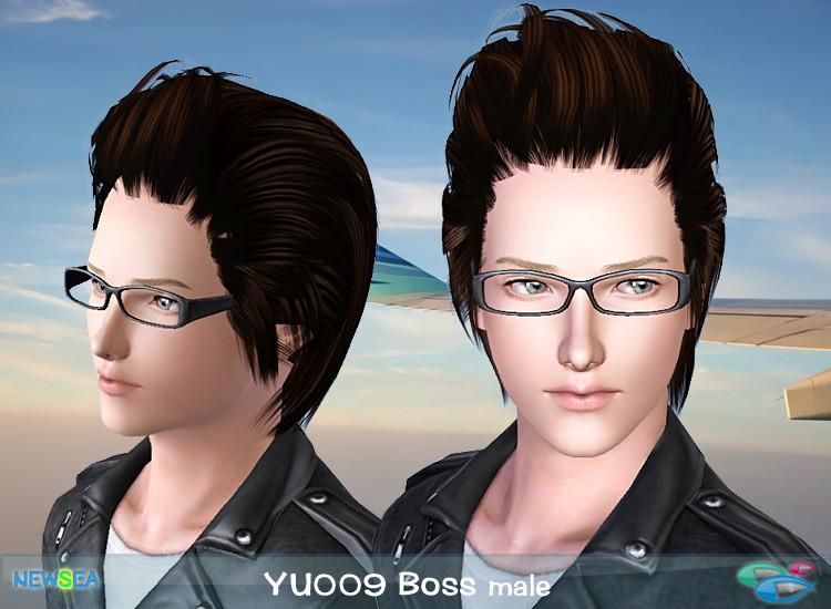 boss hair style