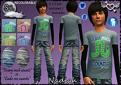 Sims 3 teen, clothing, fashion, outfit, boy
