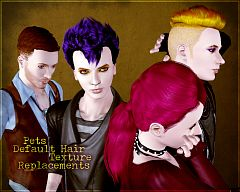 Sims 3 hair, hairstyle, genetics, female, male, pet