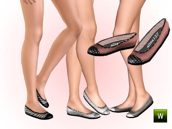 Empire Sims 3: New shoes - Female YA/A and Teens by Pixicat