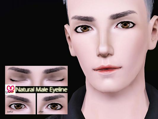 Sims 3 Eyeliner Makeup Male