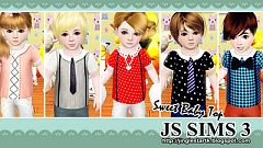 Sims 3 cloth, top, fashion, baby