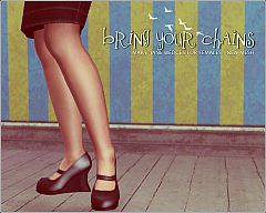 Sims 3 wedges, shoes