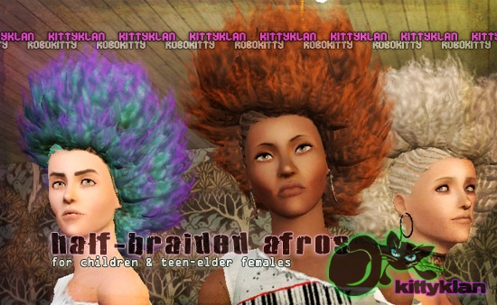 Wondrous Sims 3 Updates Downloads Fashion Genetics Hair Page 45 Short Hairstyles For Black Women Fulllsitofus