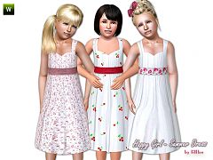 Sims 3 dress, outfit, fashion, clothing, everyday, child