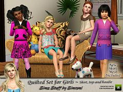 Sims 3 skirt, clothing, female, girls, outfit