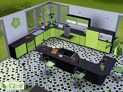 Sims 3 kichen, furniture, objects, decor