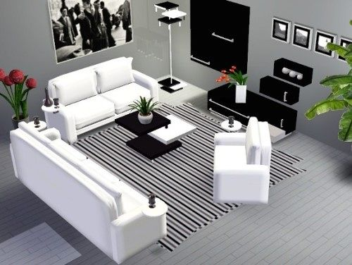 Modern Living Room Set Sims 3 Sims 3 Living Room Decor