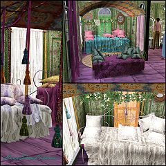 Sims 3 bed, bedroom, furniture, objects, decor, set