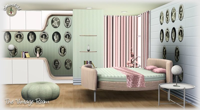 Bedroom Designs Sims 3 sims 3 updates - simcredible designs: the vintage room at