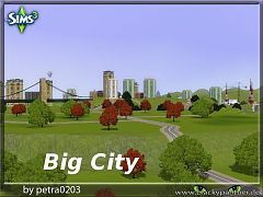 Sims 3 city, neighbourhood, world, lot