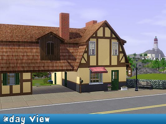 Sims 3 Updates - Mod The Sims: Residential lot by shishi