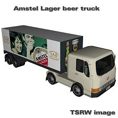 Sims 3 truck, beer, car, vehicle, auto