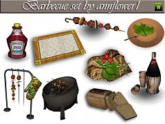 Sims 3 decor, objects, kitchen