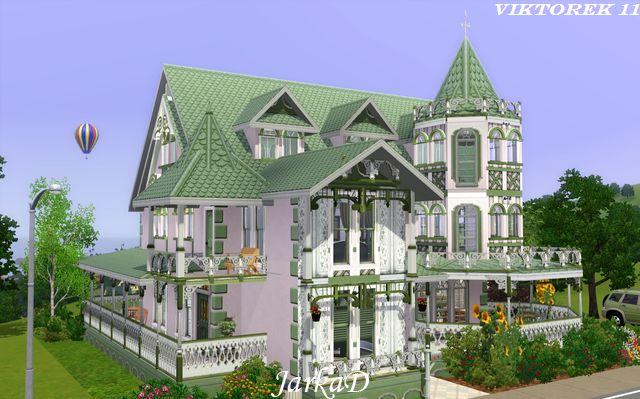 sims 3 updates - jarkad sims3 blog: victorian house xijarkad