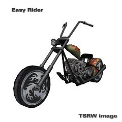 Sims 3 vehicle, motorcycle, chopper