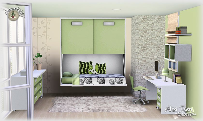 gallery for gt sims 3 teen bedroom ideas flovv s brown cherry bedroom
