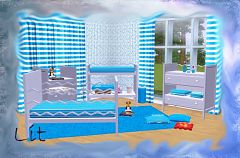 Sims 3 nursery, kids, children