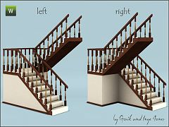 Sims 3 stair, build, arhitecture, staircase