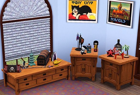Sims 3 Updates - Mod The Sims: Clutter, Lovely Clutter by BabaYaga ...