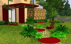 Sims 3 outdoor, garden, objects