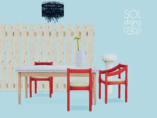 Sims 3 diningroom, furniture, objects, decorative