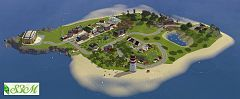 Sims 3 island, world, neighbourhood