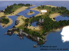 Sims 3 island, isle, pirate, world, neighbourhood