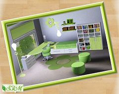 Sims 3 bed, bedroom, furniture, sims, room, kids