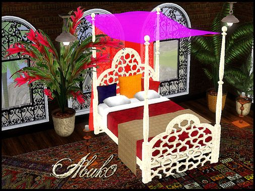 Sims 3 living, livingroom, set, furniture, bed, bedroom