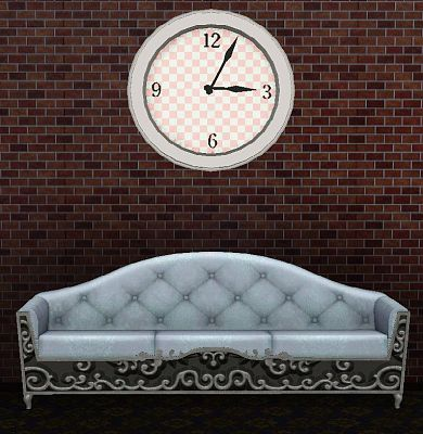 Sims 3 clock, decor, objects