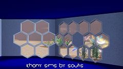 Sims 3 window, space, build, arhitecture