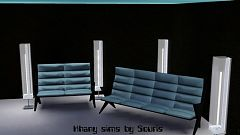 Sims 3 sofa, seats, space, lunar lake