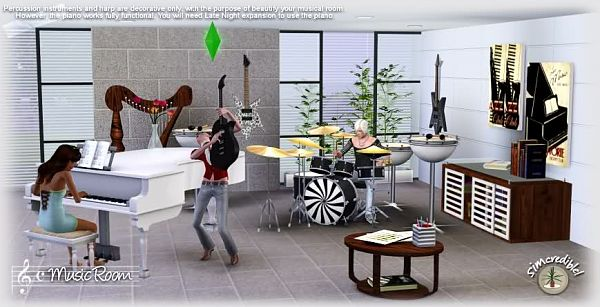 Sims 3 Livingroom, Furniture, Decor, Objects Part 62