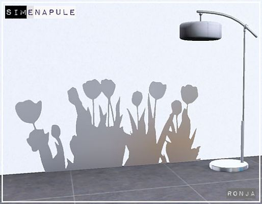 Sims 3 wall, decor, stickers