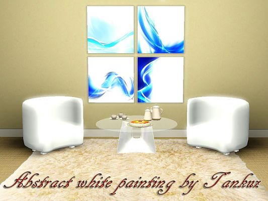 Sims 3 paint, paintings, decor, objects, decorations, abstract