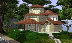 Sims 3 building, community, church