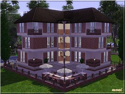 Sims 3 house, lot, residential, apartment