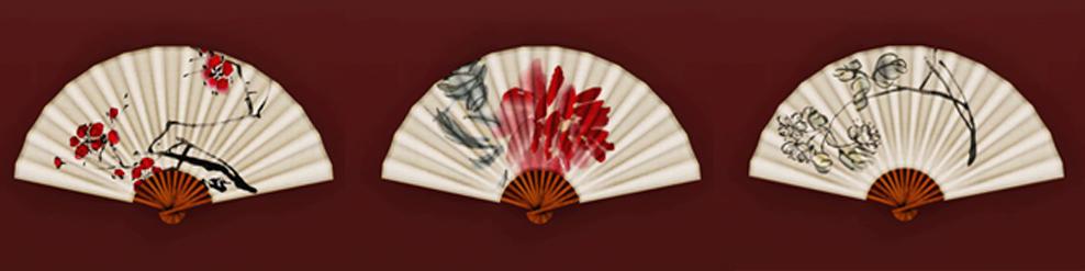 Китайский веер на стену своими руками 45