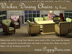Sims 3 chairs, furniture, diningroom