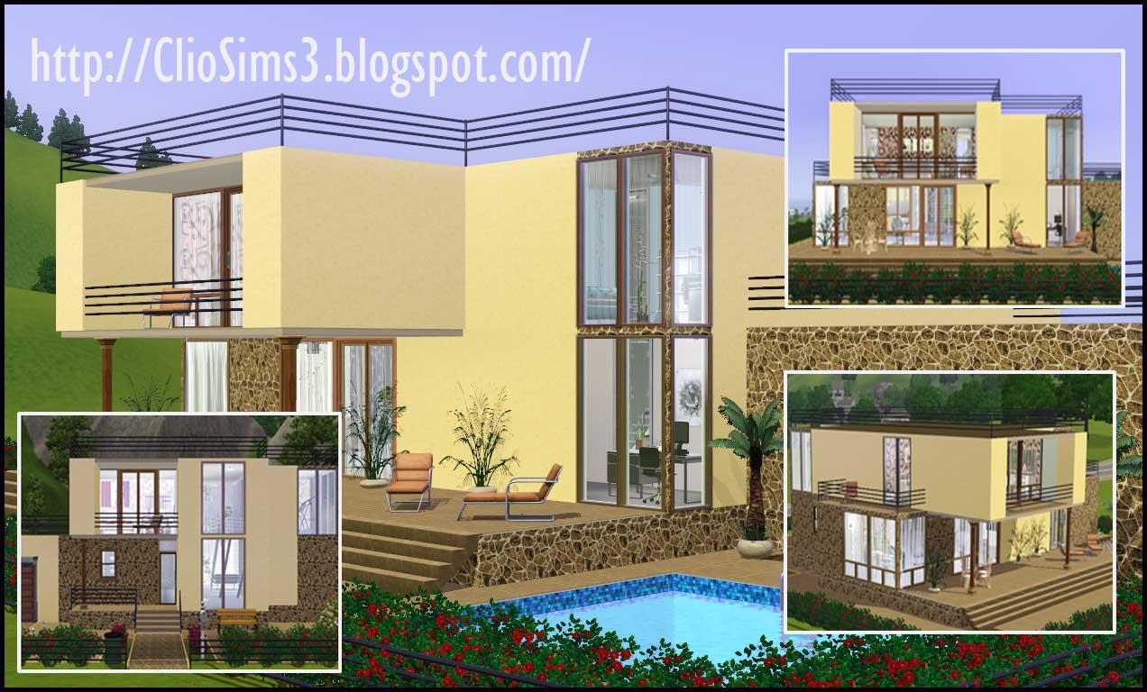 sims 3 simple modern house Modern House