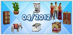 Sims 3 set, compilation, furniture, hairs, clothing, sims3, sims 3