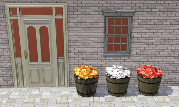 Sims 3 decor, decorations, objects, flowers