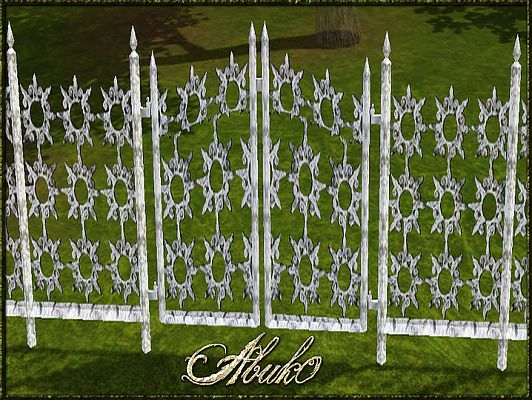 Sims 3 gate, fence, build, objects