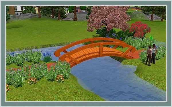 Sims 3 Updates - The Sims Resource: Decorative Bridge - covers up to ...