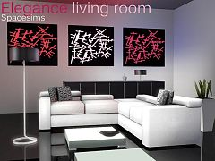 Sims 3 Living, Livingroom, Set, Furniture Part 45