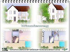 Sims 3 residential, building, house, lot