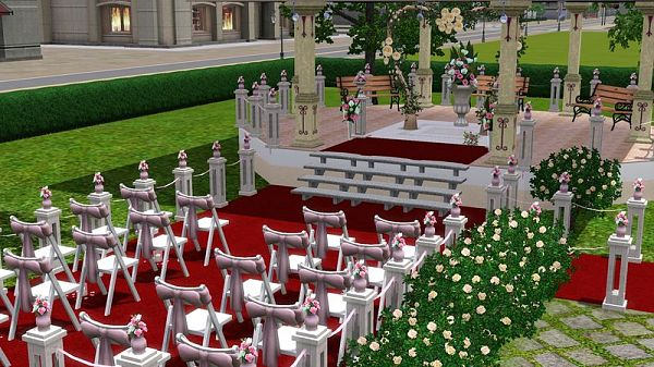 how to plan a wedding sims 3