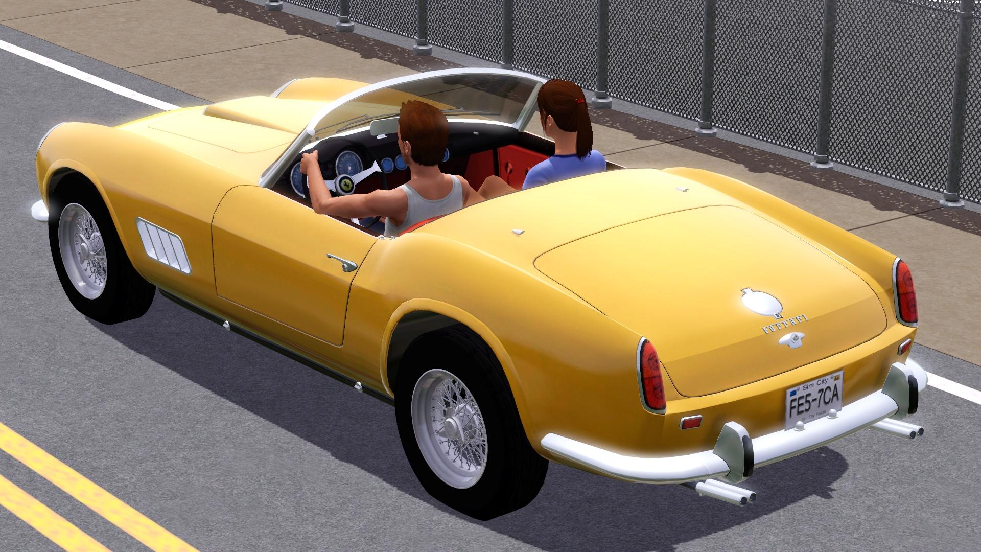 Sims 3 Updates Fresh Prince Creations 1957 Ferrari 250 Gt