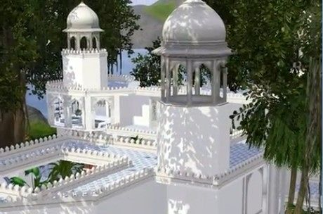 Sims 3 palace, indian, lot, residential